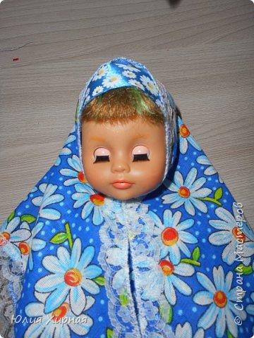 Во так я обшила очередную куклу фото 18