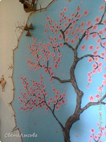 Сакура барельеф фото 10