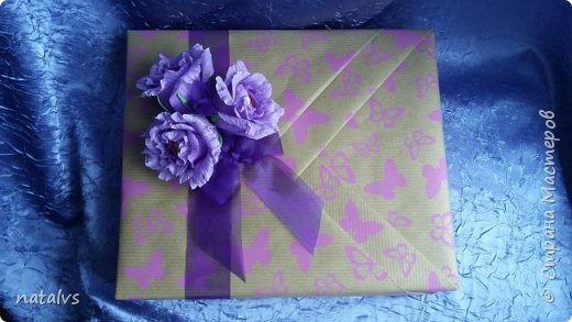 Упаковка подарка фото 3