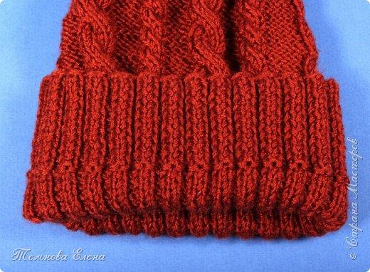 Вот такая простенькая шапочка связалась у меня весной. Название пряжи не помню, состав шерсть + шёлк. В работе очень понравилась: ровная без узелков, приятная на ощупь. фото 4