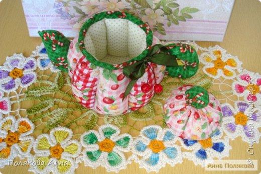 Дорогие мастерицы! У меня готовы новенькие чайники. Уютный текстильный чайник станет замечательным подарком, послужит шкатулочкой для чайных пакетов, конфеток, бижутерии или других мелочей, а также может быть необычной упаковкой для небольшого подарка.  Пошив из качественных натуральных тканей. Высота 15см. фото 6
