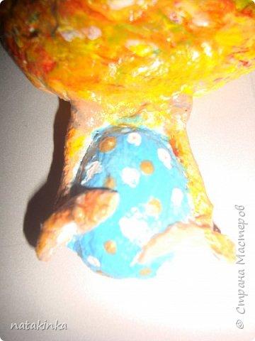 ватная курочка, магнит фото 2
