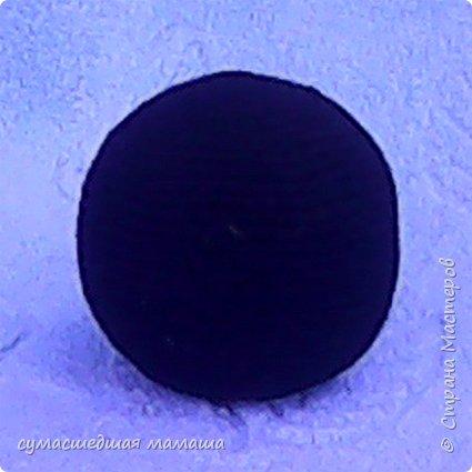 Высота игрушки 14 см.  Потребуется: - нити чёрного, белого и зелёного цвета - две чёрные полубусины, носик  Условные обозначения: Ка – кольцо амигуруми Сбн – столбик без накида Пр – прибавка, 2 сбн вывязать из 1 петли Уб – убавка, 2 сбн провязать вместе В конце каждого ряда в скобках указано количество петель в ряду  фото 2