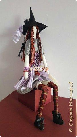 Куколка тильда. Волшебница - добрая ведьмочка!! фото 2