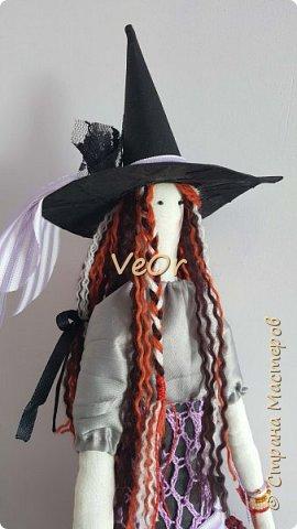 Куколка тильда. Волшебница - добрая ведьмочка!! фото 3