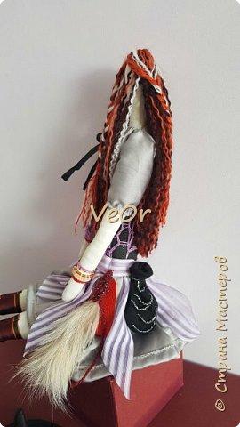 Куколка тильда. Волшебница - добрая ведьмочка!! фото 4