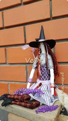 Куколка тильда. Волшебница - добрая ведьмочка!! фото 5