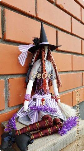Куколка тильда. Волшебница - добрая ведьмочка!! фото 7