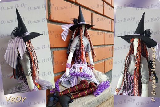 Куколка тильда. Волшебница - добрая ведьмочка!! фото 1