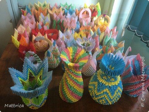 Вазы, лебеди, корзинки - подарки к Дню учителя (55 штук) фото 1