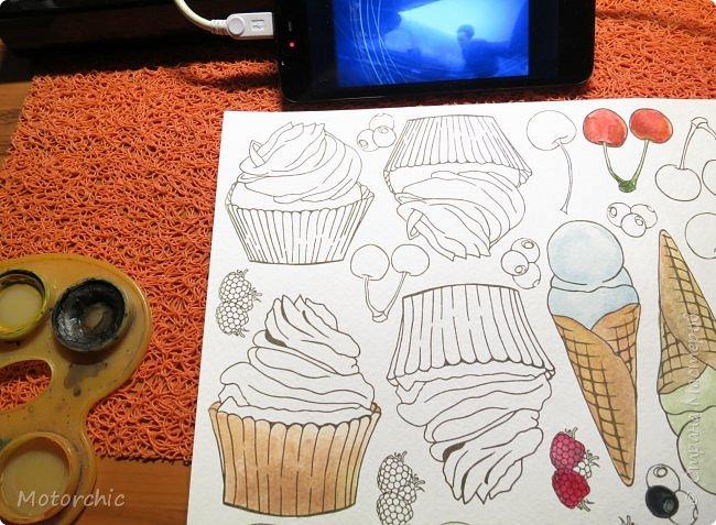 У меня соорудились новые открытки благодаря желанию порисовать. А точнее - раскрашивать. фото 9