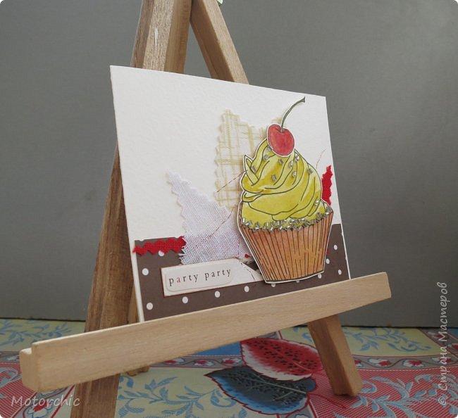 У меня соорудились новые открытки благодаря желанию порисовать. А точнее - раскрашивать. фото 11