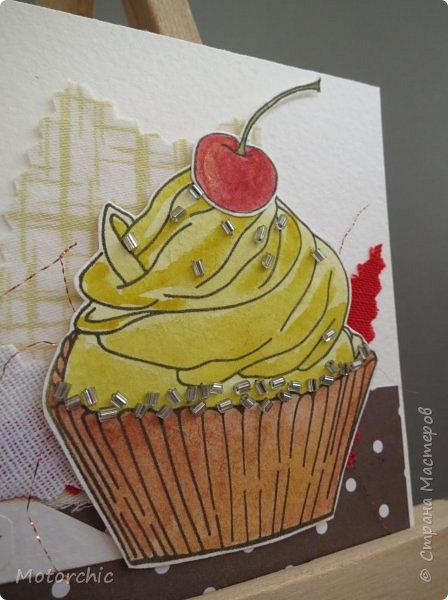 У меня соорудились новые открытки благодаря желанию порисовать. А точнее - раскрашивать. фото 12