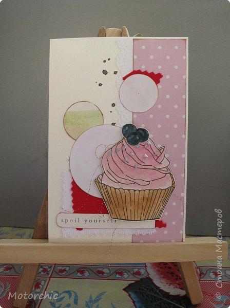 У меня соорудились новые открытки благодаря желанию порисовать. А точнее - раскрашивать. фото 2