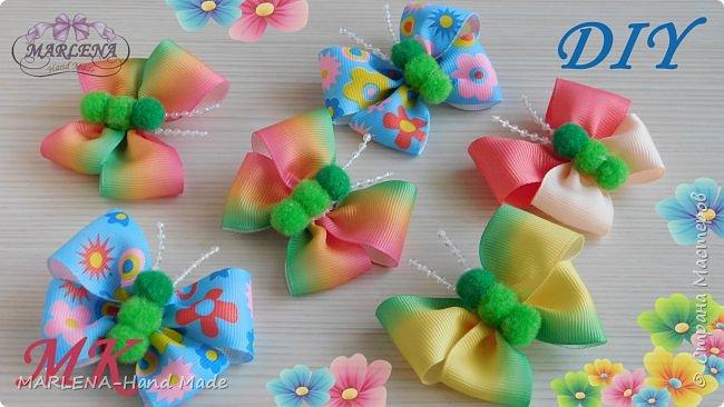 Бабочки-бантики  фото 1