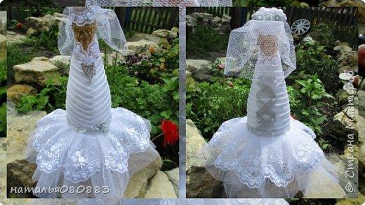Впереди свадьба брата мужа, мама попросила оформить для молодых набор, что из этого получилось - судить Вам. Спасибо большое девочкам за МК. фото 3