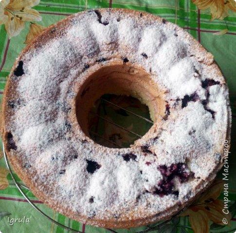 Всем хорошего настроения и счастливых улыбок.  Сегодня хочу поделиться пошаговым рецептом ленивого пирога, который готовила ещё моя бабушка, а позднее и мама. Название своё он получил за простоту приготовления..Готовить этот пирог можно с любыми ягодами (как свежими, так и замороженными), можно с яблоками (нарезанными небольшими ломтиками) и корицей вместо ванилина. В общем это такая база, на основе которой можно творить и вытворять чУдные вкусности. Это вкус знакомый мне с детства. Это аромат свежей выпечки. Это просто. Это быстро. И главное, это всегда получается. Нам понадобится:  5-6 яиц ( в зависимости от размера. У меня С0 т.е большие) 1 (граненый) стакан сахара (можно больше, можно меньше, кто как любит и в зависимости от того, какие по сладости ягоды)  1 (граненый) стакан муки 1,5 чайные ложки разрыхлителя 1 пачка ванилина (1гр) Замороженные (можно свежие) ягоды черной смородины (у меня 250гр. можно меньше, можно больше..Если готовить пирог с яблоками то приблизительно 3-4 яблока средних размеров) Форма для выпекания (у меня круглая для выпечки кекса диаметром 23 см)  для смазывания формы маргарин  и манная крупа сахарная пудра для того, чтобы присыпать готовый пирог сверху (но это по желанию) фото 9