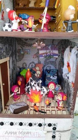 Вот такой домик мы с сыном сделали для конкурса на тему : дети против огненных забав  фото 4
