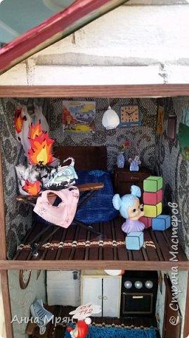 Вот такой домик мы с сыном сделали для конкурса на тему : дети против огненных забав  фото 3