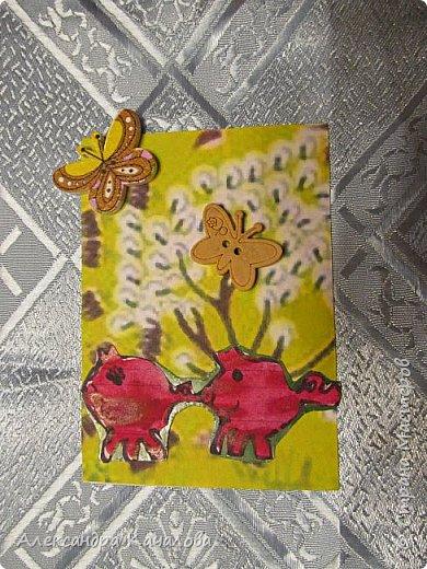Здравствуйте. Карточки от Ульяны (8лет). фото 2
