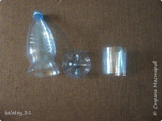 Всем здравствуйте! Хочу поделится способом хранения мулине.  Для работы нам понадобится: пластиковая бутылка, ножницы, фломастер ( но можно и без него) и все! Из 1,5 л бутылки получаются три шпульки, из 1 л -2 шт. фото 2