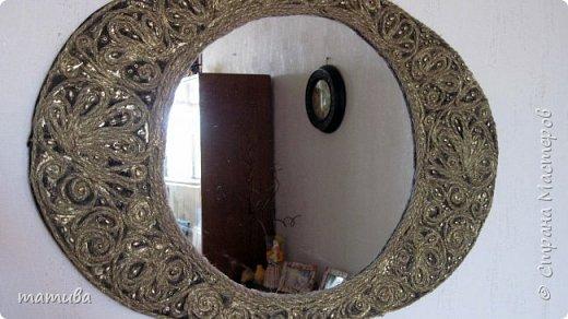 Оправа для старого зеркала. фото 1