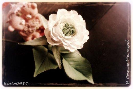 """Хочу поделиться с вами своей новой работой, роза необыкновенной красоты Грин Ай (Green Eye) """"Зеленый глаз"""". Выполнена по мастер классу в Школе Фом-флористики.  фото 1"""