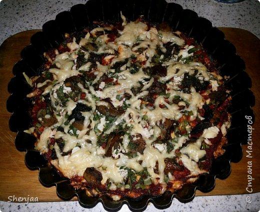 Диетическая пицца без муки фото 1