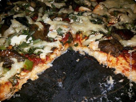 Диетическая пицца без муки фото 3