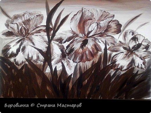 Всем доброго дня! Очарована техникой живописи в коричневых тонах, которая  называется сепия. Приглашаю посмотреть что получилось. Некоторые сюжеты свои, но в основном рисовала по фото и картинкам из интернета. фото 8