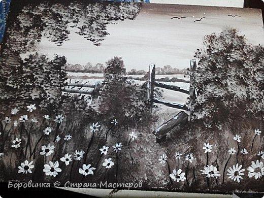 Всем доброго дня! Очарована техникой живописи в коричневых тонах, которая  называется сепия. Приглашаю посмотреть что получилось. Некоторые сюжеты свои, но в основном рисовала по фото и картинкам из интернета. фото 4
