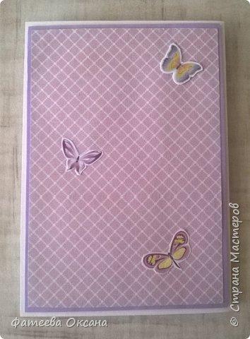 Здравствуйте, уважаемые жители Страны Мастеров! У меня создалась открытка-шуршалка с феечкой и бабочками.  фото 4
