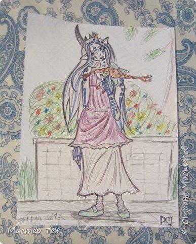 Сегодня я вам покажу ещё одну куклу с множеством костюмов. Фото будет предостаточно! Это Вильф - белокожий демон. Нет, не альбинос. Он весьма молод, что заметно по взгляду. фото 67
