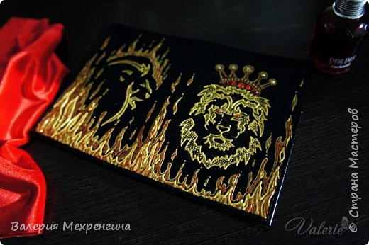 Обложка на паспорт для ррр.. львицы )) фото 1