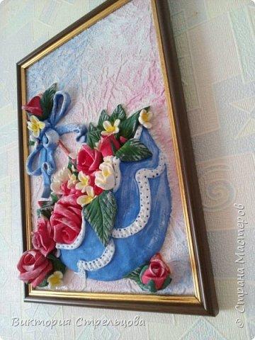 """Панно """"Зонт и розы"""" фото 2"""