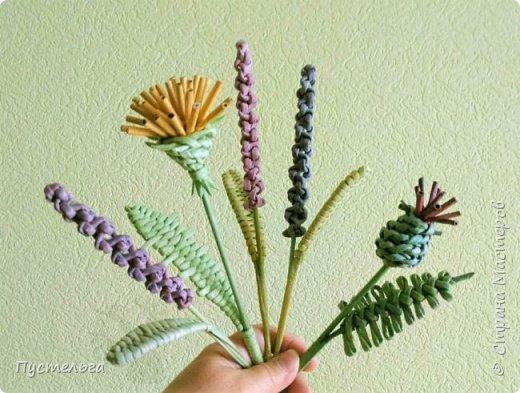 Лето, лето, лето... Сплетём цветочки! фото 1