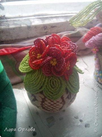 Бисерные цветики фото 5