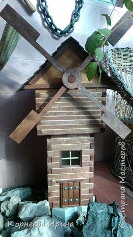 мельница для сада фото 1
