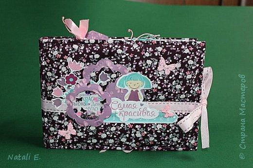 """Добрый день, друзья!  Хочу показать свою первую работу в технике """"Скрапбукинг"""" (если не считать несколько открыток)!  Фотоальбом сделан в подарок для девочки, вернее для её мамы...))) Делала альбом по МК Даши Ворошиловой  https://www.youtube.com/playlist?list=PLZya10eg02bvWbBNgjBKBFye0X0sSc7l0 В работе использована бумага для скрапбукинга коллекции """"Наши детки. Девочки!"""" производитель """"Бумажный уголок"""""""
