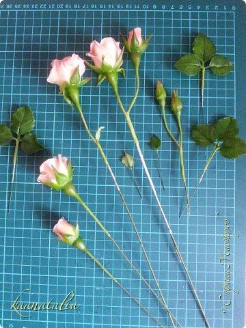 Сначала чуть-чуть готовых роз... фото 32