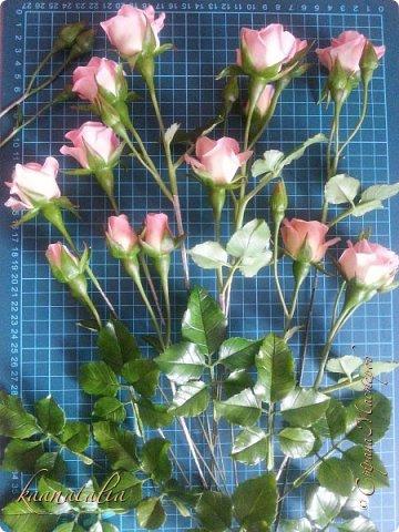 Сначала чуть-чуть готовых роз... фото 33