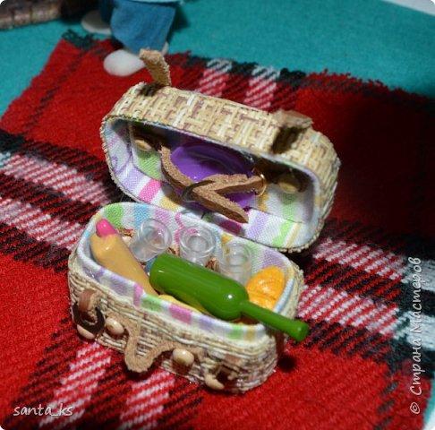 Здравствуйте мастера и мастерицы! Представляю вам свою новую работу- Гриль и корзинку для пикника. фото 3