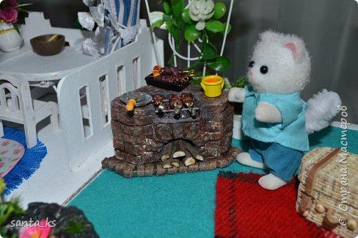 Здравствуйте мастера и мастерицы! Представляю вам свою новую работу- Гриль и корзинку для пикника. фото 1