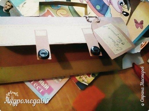 Вот такой конверт я мастерила на день рождения своему кресному фото 1