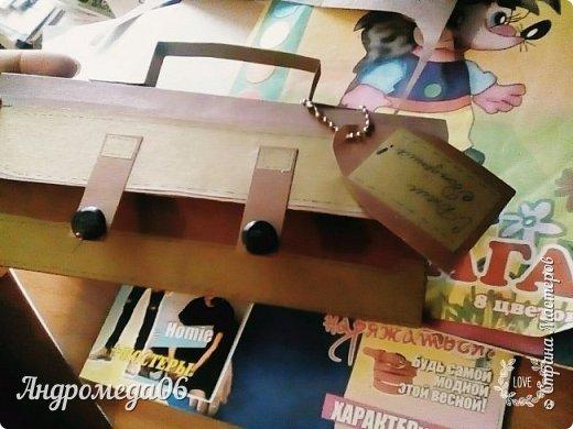 Вот такой конверт я мастерила на день рождения своему кресному фото 2