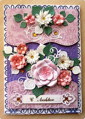 Здравствуйте, жители и гости СМ! Сегодня покажу свои очередные открытки. Приглашаю к просмотру. фото 6