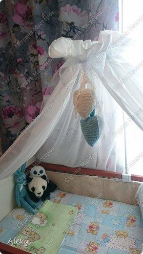 Сердечки на детскую кроватку. фото 3