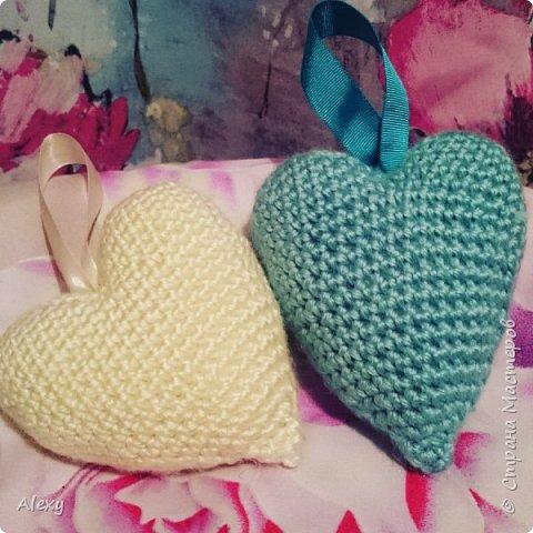 Сердечки на детскую кроватку. фото 1
