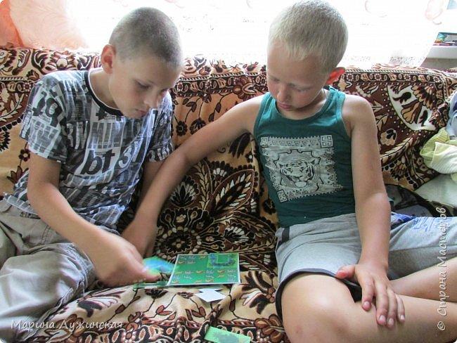 Всем Дорого времени суток! Хочу рассказать о пополнении в нашей коллекции настольных игр ... В эти игры можно играть  и в одиночку, и с друзьями... Эти игры-головоломки отлично тренируют ум. Мои дети и их друзья с удовольствием играют в них. А я радуюсь, что дети увлечены и забывают про  компьютер  ... фото 5