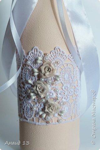 """Свадебный набор. Цвет """"розовая пудра"""" и персик. фото 3"""